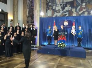 Svečani trenutak Nacionalne himne